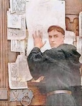 what are the 95 theses martin luther yahoo Martin luther was a german monk, theologian, university professor and church reformer whose ideas inspired the protestant  martin luther's ninety-five theses by.